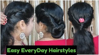 2 Everyday Easy Hairstyles Tutorials ||  hair style girl || cute hairstyles || Easy Hairstyles
