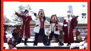 ºoº [スニークザンビ前] TDS イッツ・クリスマスタイム2019 東京ディズニーシー Tokyo DisneySEA Characters show It's Christmas Time