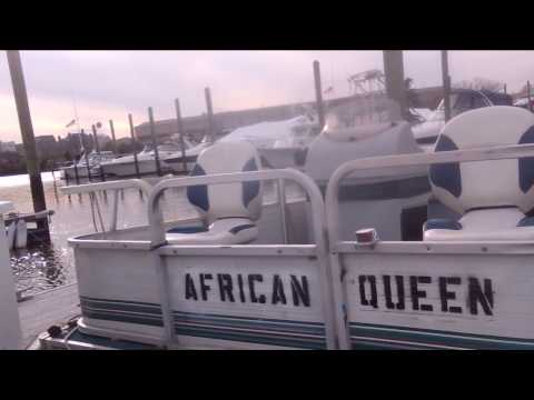 The African Queen, Washington, DC, docked year round at Columbia Island Marina