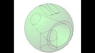 Помощь. Сечение плоскостью, вырезание по сечениям(Изучаем программу инженерной графики на сайте http://veselowa.ru/. В видео показано создание шара вращением, операц..., 2014-03-27T07:39:24.000Z)