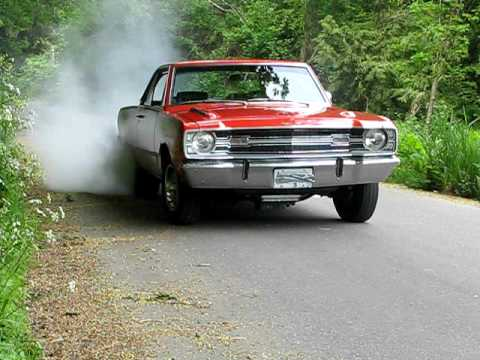 1969 Dart GTS 340 Burn Out