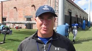 Fighting Peaches: Georgia State FB Shawn Elliott interview 9.11.18 #sportsinquirer #gsupanthers