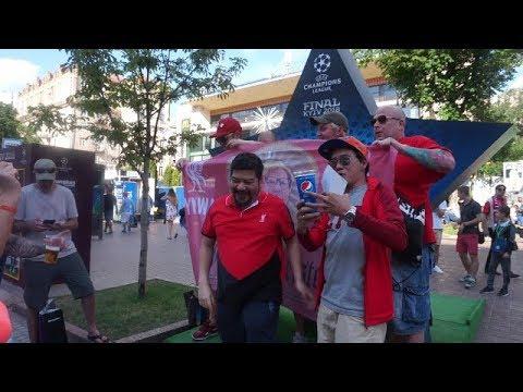 Liverpool Fans make the loudest noise | Champions League Final Kyiv 2018 | Champions Fest