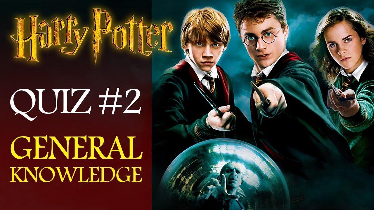 Harry Potter Quiz #2 - Fan General Knowledge - Don't Bore Me