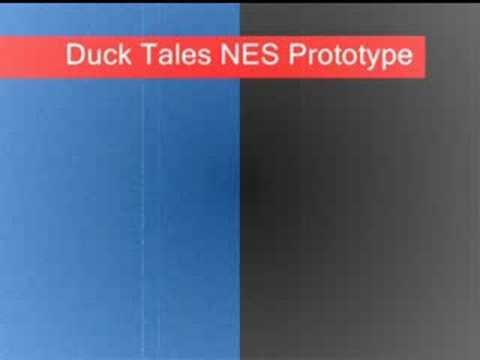 Duck Tales NES Prototype Moon Stage Music