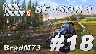 Farming Simulator 15 - Season 1 - Episode 18 - I buy a Ponsse Scorpion!!
