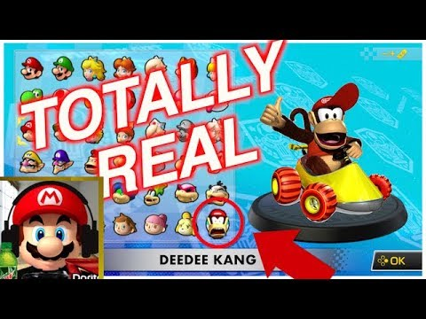 DIDDY KONG RACING in MARIO KART 8 ( switch )