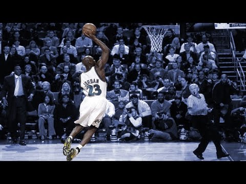 Michael Jordan: Top 10 Dunks as a Washington Wizard