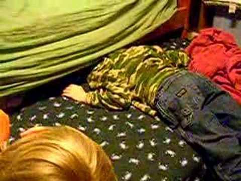 Stuck under bed