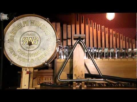 "Wurlitzer CX Orchestrion performing ""Sweet Georgia Brown"""