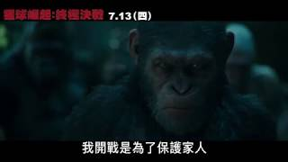 【猩球崛起:終極決戰】35 TVC 無路可退篇