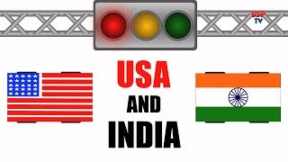 India And USA Traffic Rules | Comedy Video | Desi Funny Videos