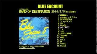 "2014/2/5 IN STORE BLUE ENCOUNT 1ST FULL ALBUM ""BAND OF DESTINATION""..."