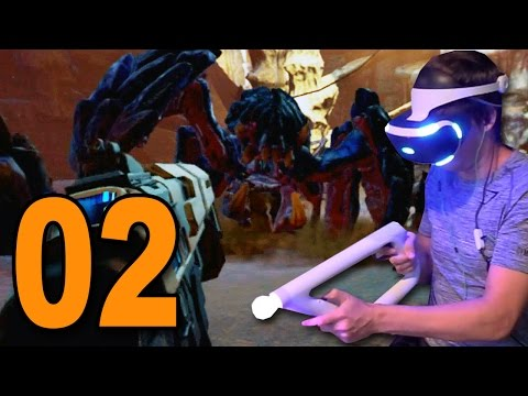Farpoint VR - Part 2 - HUGE ALIEN MONSTERS! (PSVR Shooter)