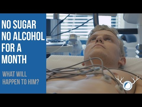 Give up added sugar and alcohol for 1 month