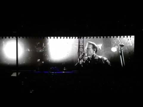 U2 Bono dedicating a song to Chris Cornell at the Joshua Tree concert at the rosebowl