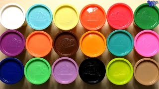 Aprende los colores con plastilina Play Doh | Videos Educativos | Aprender los Colores en Español
