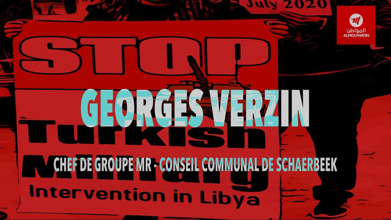 Provocations en Méditerranée - 🎥🎙 Georges VERZIN, Chef de groupe MR, Commune de Schaerbeek