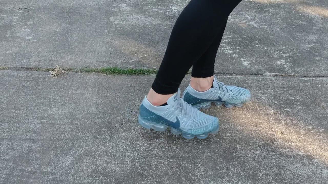 Nike Vapormax Wolf Grey/ Blue Fox on