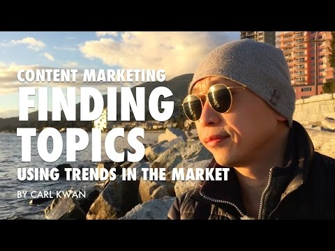 Video marketing - Spotting trends to help create content