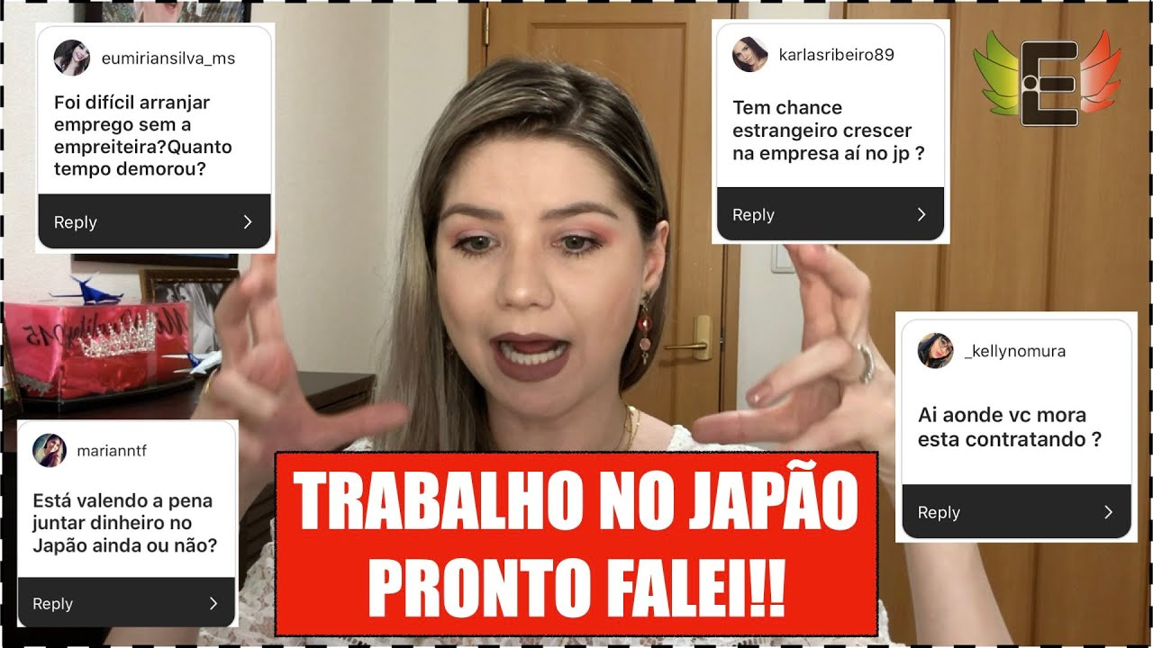 TRABALHO NO JAPÃO | RESPONDI TUDO
