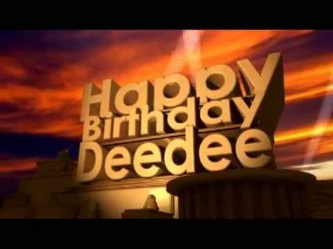 Happy Birthday Dee Cake Images