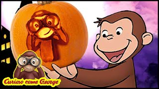 Curioso come George 🎃Speciale di HALLOWEEN - Detective George 🎃Cartoni Animati 🐵George la Scimmia
