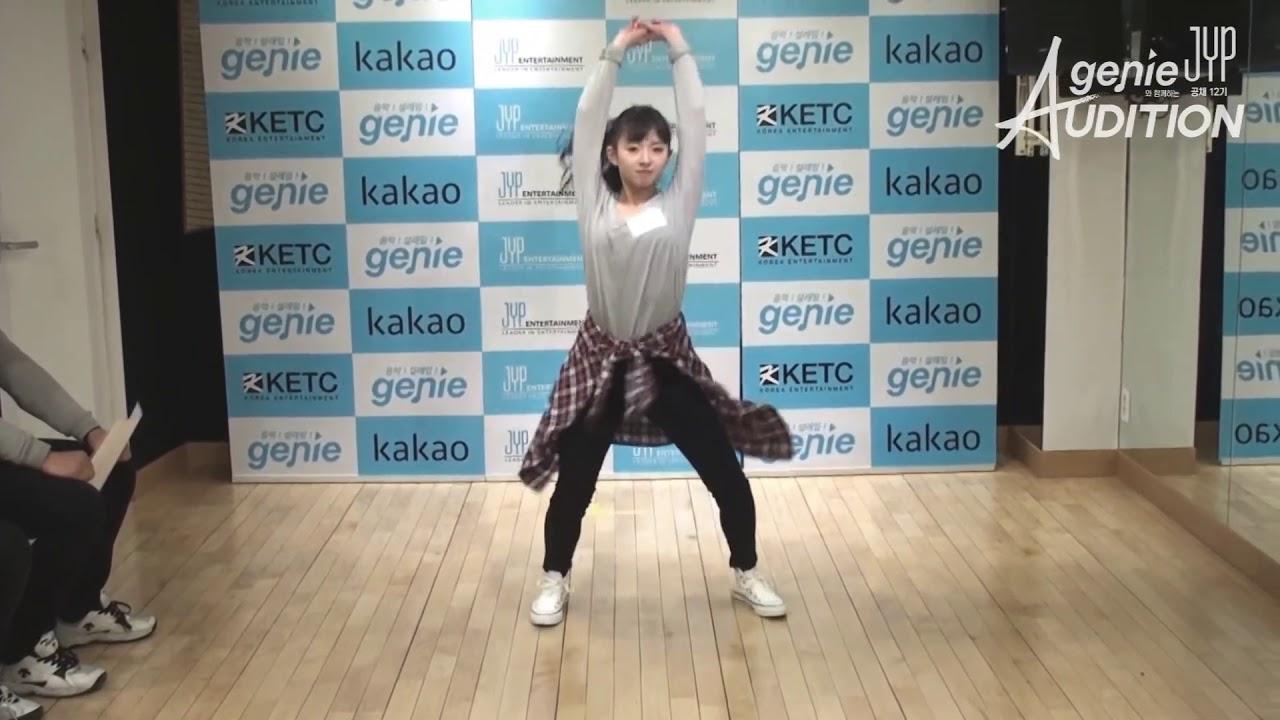 Jyp 12th Open Recruitment Audition Sakamoto Mashiro Youtube