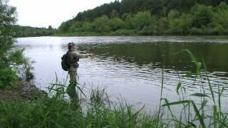 Река Неман Спиннинг Neman River Spinning.