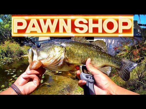 Pawn shop bass fishing challenge suprising outcome for Bass fishing challenge