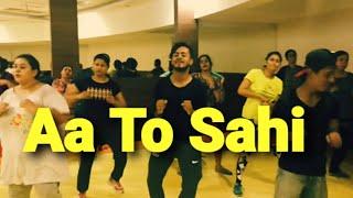 AA TO SAHI / judwaa 2/meet bros, neha kakkar/ zumba dance  fitness workout by amit