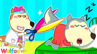 Funny Stories About Wolfoo Pretend to Be Sick | Wolfoo Channel Kids Cartoon