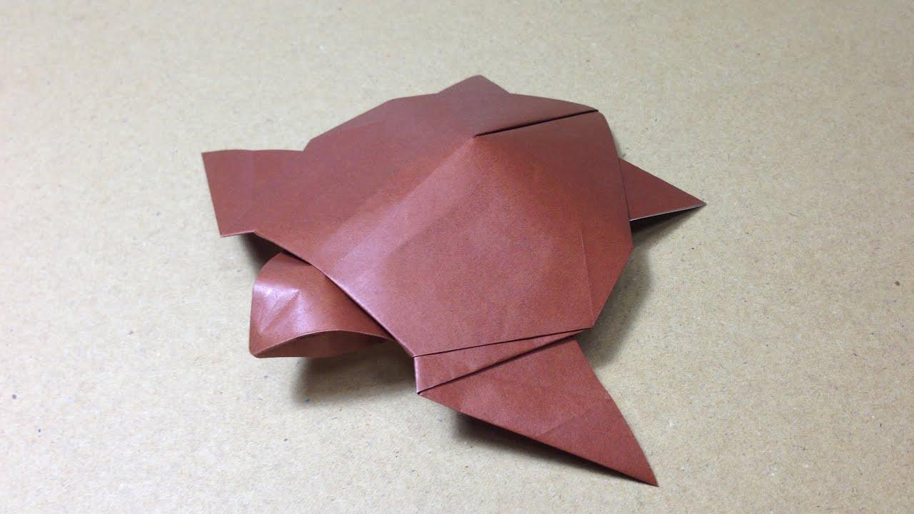 ... ウミガメの折り方 作り方 | Doovi : 折り紙菊の折り方 : すべての折り紙