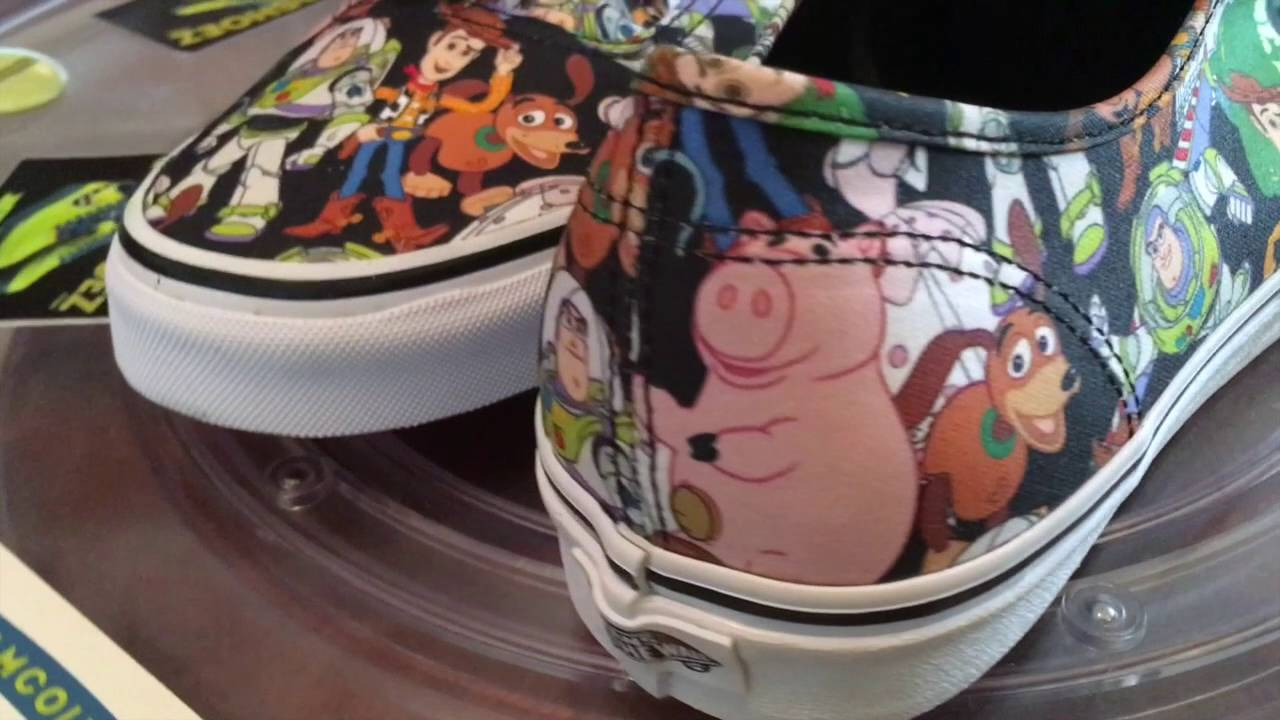 38c88f0312c3b8 Vans x Disney - Pixar (Toy Story) Authentic - Journey s Exclusive - Multi -  10.12.2016