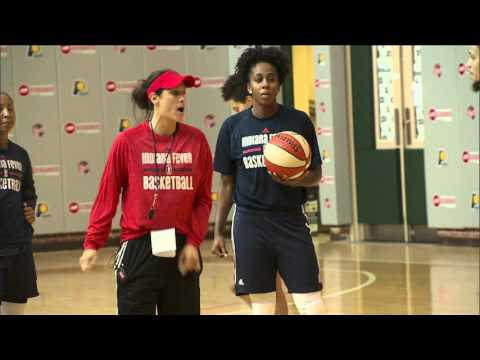 Inside Finals Practice with the Indiana Fever