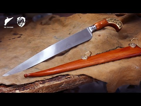Making a Persian Karud Knife with Green Beetle! - Charity Build