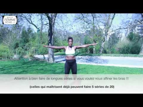 Sport is beautiful - Muscler et affiner ses bras - Beauté Femme noire (#3)
