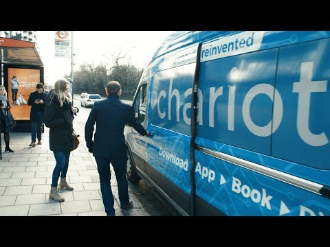 Chariot Shuttle Service Comes to Europe, First Stop London