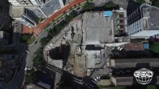 Central Geo - Demolition of Kompleks Niaga Utama Bangsar