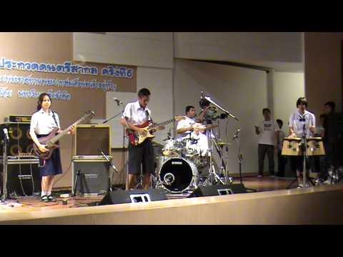 Mek Drummer ประกวดดนตรีที่ ม.รังสิต Dakapo