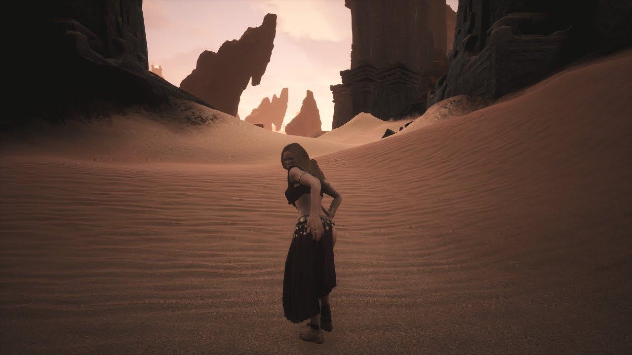 Conan exiles - Zamorian dancer outfit