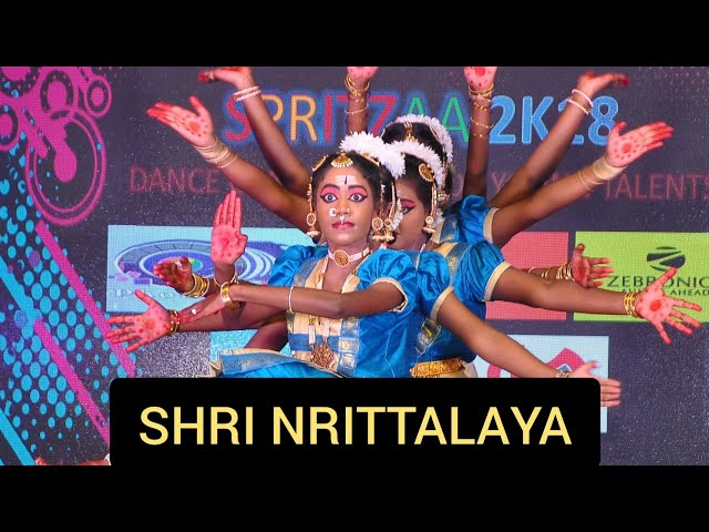 Shiva Tandava Stotram - Bharatanatyam - Shri Nrittalaya - Group Performance
