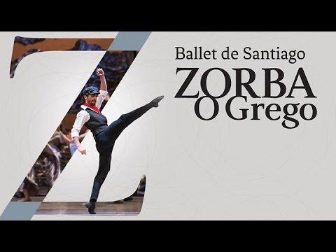"""""""Zorba o Grego"""" Ballet de Santiago en Rio de Janeiro 2016 - Final completo (2da función)"""