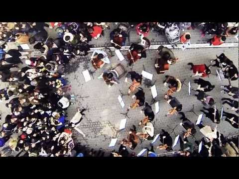 [This is Arirang] Ssamji-gil Orchestra flash mob playing in Insa-dong