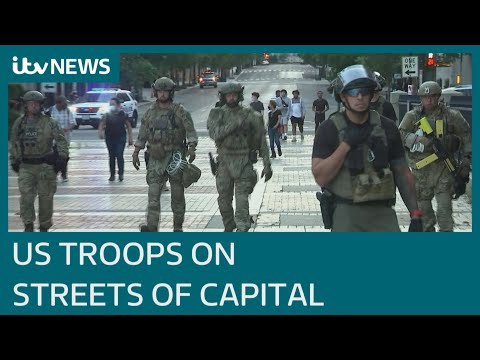 US Military Deploys Across Washington Amid Protests | ITV News