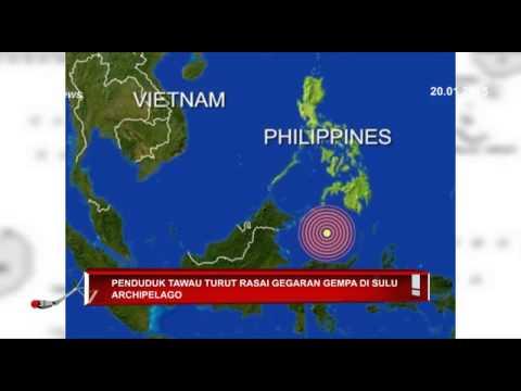 Penduduk Tawau Turut Rasai Gegaran Gempa Di Sulu Archipelago