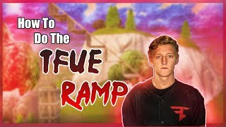HOW TO TFUE RAMP! Ramp Rush Like Tfue! - Fortnite Tutorial