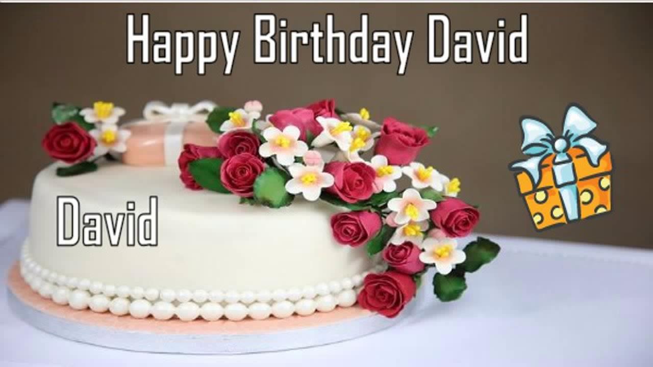 Happy Birthday David Image Wishes Youtube