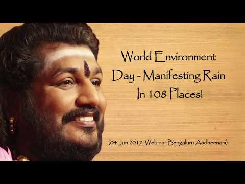 Manifesting Rain in 108 Places: Nithyananda Yogis Express Powers on World Environment Day