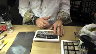Tim Holtz Archival Ink Palette - CHA 2016